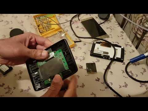 TomTom Start 25 Battery modification Nokia BL-4C