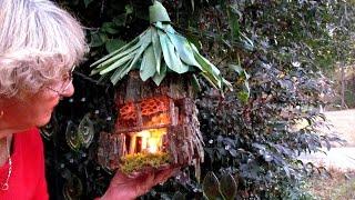 Fairy House Hanging In My Rock Garden In Ga.