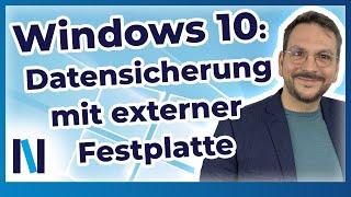 Windows 10: Geh auf Nummer sicher und speichere Deine Daten auf einer externen Festplatte!