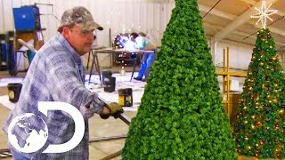 ARTIFICIAL CHRISTMAS TREES | How Its Made