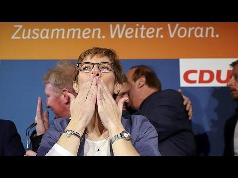 Ενισχυμένη η Μέρκελ από τη νίκη του CDU στο Σάαρλαντ