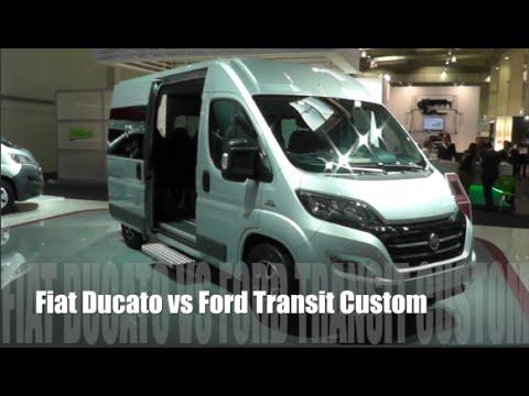 Ford  Transit Custom VAN Фургон класса M - тест-драйв 4