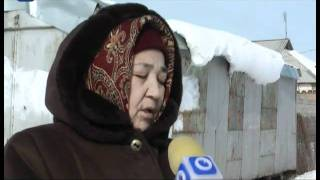 Оралманка из Узбекистана живет в железном вагончике
