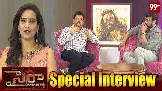 Sye Raa Dussehra Special Interview | Chiranjeevi | Surender Reddy | 99 TV Telugu