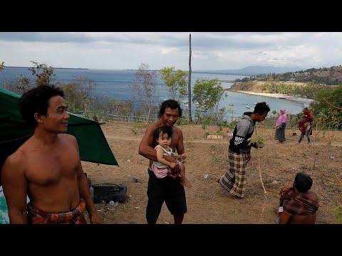 Nέος ισχυρός σεισμός στην Ινδονησία