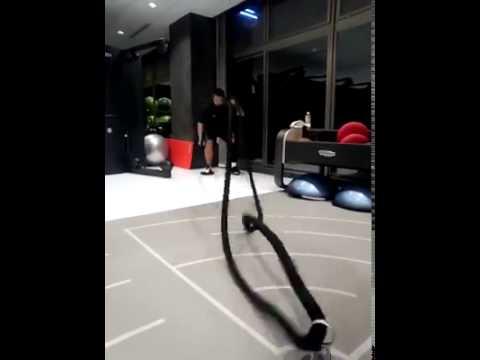 ロープを振るトレーニング