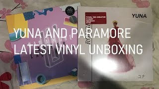 Yuna And Paramore Latest Vinyl Unboxing