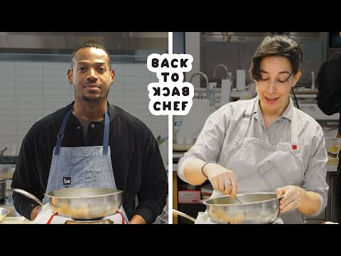 Marlon Wayans Tries to Keep Up With a Professional Chef   Back-to-Back Chef   Bon Appetit