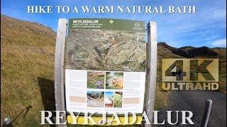 Reykjadalur Hot Spring Thermal River, Iceland