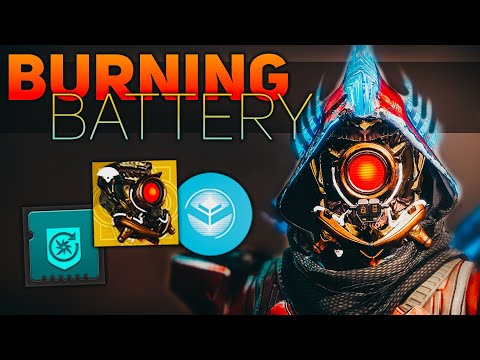 Nearly Invincible (Burning Battery) Hunter Build | Destiny 2 Shadowkeep Builds