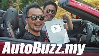 YouTube Silver Play Button Award unboxed! - AutoBuzz.my