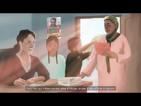 محوالأمية - التعليم حق  Alphabétisation - l'éducation : un droit