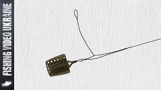 Как вязать несимметричную петлю для фидера фадеев