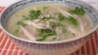 Chicken Congee (Rice Porridge) – Chao Ga Recipe