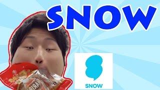 今話題のアレを俺風にやってみた!【SNOW】
