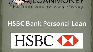 HSBC Bank Personal Loan In Delhi NCR Through LoanMoney