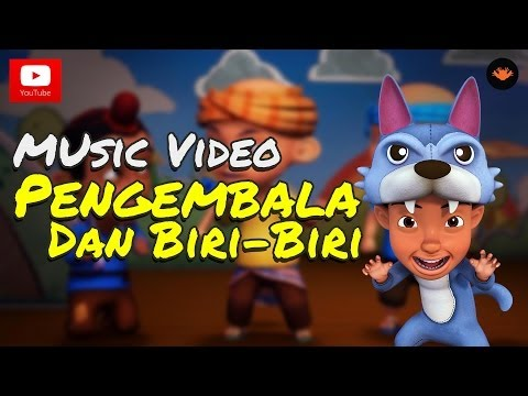 Upin & Ipin - Pengembala dan Biri-Biri [Music Video]