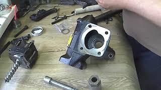 Ремонт рулевого редуктора BMW E34 #2