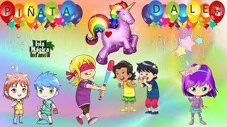 Dale, Dale, dale, dale no pierdas el tino - Canción de la piñata - Piñata de unicornio