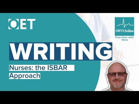 Prep Hour with Steve - Nurses Writing: ISBAR Approach