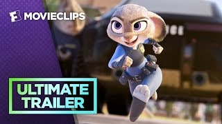 Zootopia - Ultimate Bunny Cop Trailer (2016) HD