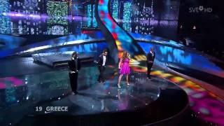 Kalomoira - Secret Combination - Eurovision 2008 - Greece - HD - High Definition