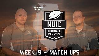 Week 9   Match Ups