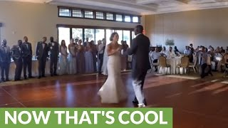 Bride And Grooms Surprise Disney Mashup Wedding Dance