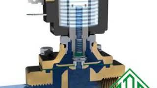 """Нержавеющий электромагнитный клапан 21IH6K1V250 (ODE, Италия), G1 от компании ООО """"Армакипсервис"""" - видео"""