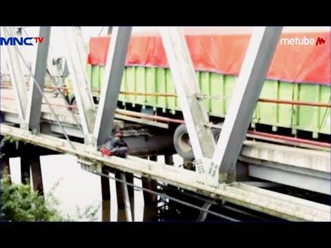 Jembatan Amblas, Jalur Lintas Timur Sumatra di Mesuji Putus - LIM 18/06
