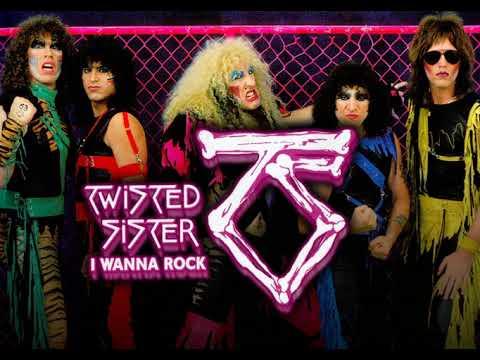 Twisted Sister - I Wanna Rock (instrumental)