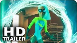 INCREDIBLES 2 Introducing Voyd Trailer (2018) Pixar, Disney The Incredibles Toys HD