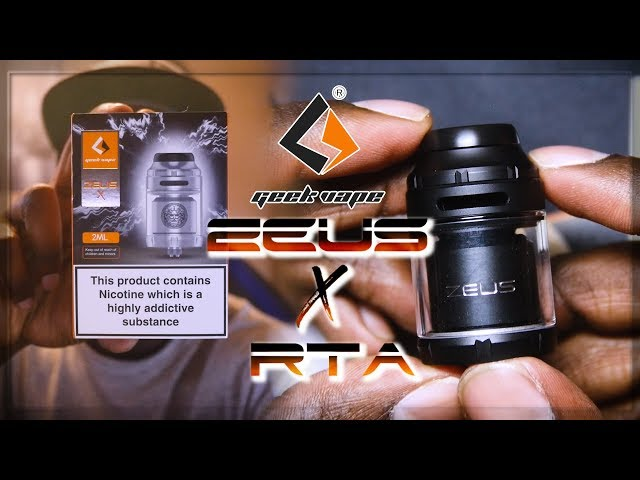 THE GEEK VAPE ZEUS X RTA ] ANOTHER DECENT RTA!! ]