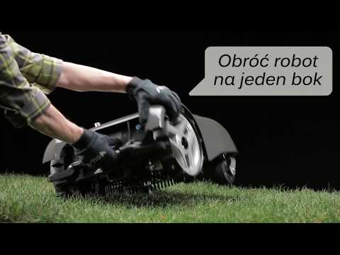 Jak czyścić robota koszącego