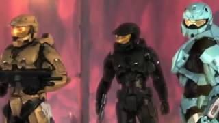 Red Vs Blue  Amv  The Flood   Escape The Fate