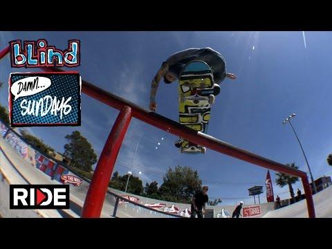 Cody McEntire at the Vans Park HB - Blind Damn Sundays