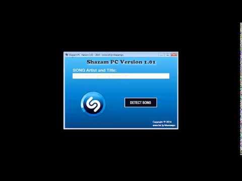 Shazam PC Version v1 01   Shazam for PC Download 2014