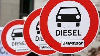 Дизельные автомобили в Германии хотят запретить