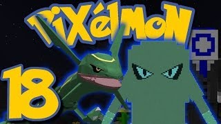 Hitmonlee  - (Pokémon) - Pixelmon Ep. 18 - TESTING RAYQUAZA + BOSS HITMONLEE! (Minecraft Pokemon Mod)