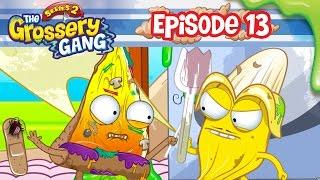 Grossery Gang Cartoon  Episode 13 Crud Flood Part 2  Cartoons For Children
