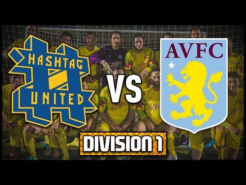 HASHTAG UNITED vs ASTON VILLA STAFF  - 2 NEW PLAYERS! - DIVISION 1