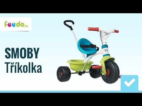 Dětská tříkolka SMOBY Be Move Pop