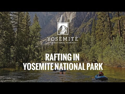 Rafting in Yosemite National Park