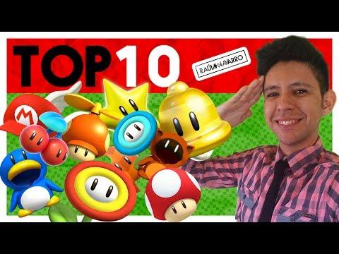 TOP 7: Transformaciones (Power up) de Super Mario Bros