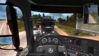 Euro Truck Simulator 2 Multiplayer|Необычный рейс с огромным трафиком|ЕТС2 МУЛЬТИПЛЕЕР