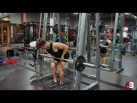Underhand Smith Machine Bent Over Row