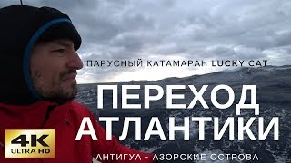 Переход Атлантического Океана на парусном катамаране (видеодневник)