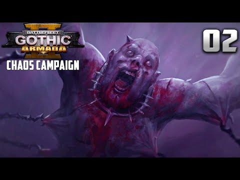 KHORNE'S MELEE BATTLE CRUISERS! - Battlefleet Gothic Armada 2 Chaos Campaign #2