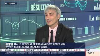 Trading, Guerre commerciale, Italie : Point de marché sur BFM Business lundi 12 août 2019
