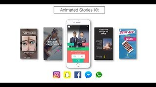 I will create animated instagram stories in 12 hours